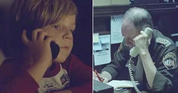 【※この対応をどう思いますか?】少年は天国に行ったママを探すため、警察に電話をかけました。それを聞いた警察官の対応が・・・