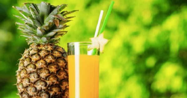 【※パイナップルジュースの驚くべきパワー】『飲み続けることで体に起こる嬉しい変化13選!』