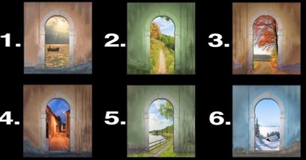 【※深層心理テスト2問!】『この扉の中から一つ選んでください』これであなたが無意識に望んでいる人生観がわかる!?